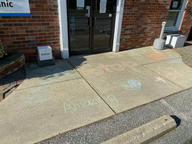 Chesapeake Animal Clinic - Sidewalk Chalk