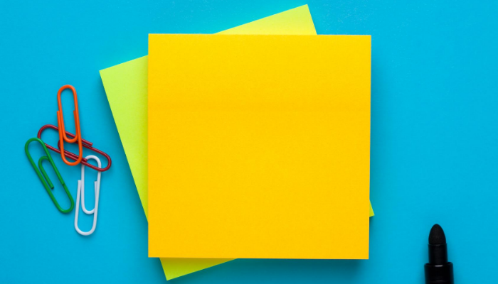 Sticky Notes & the Skill of Organization